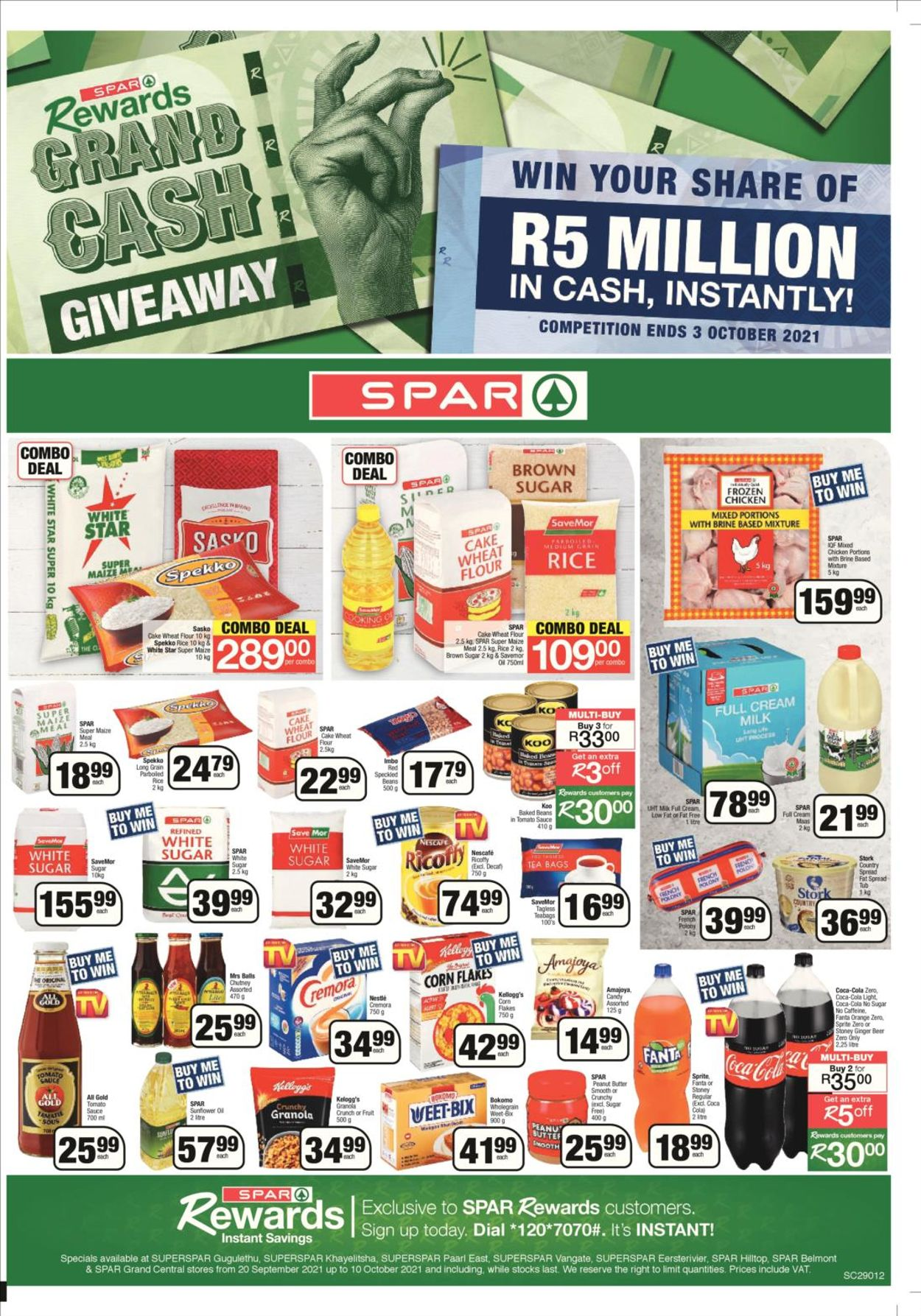 SPAR Catalogue - 2021/09/20-2021/10/03