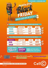 Cell C Black Friday 2020