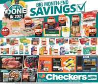 Checkers Month-End Specials 2021