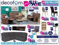 Decofurn Factory Shop - Holidays Sale 2019