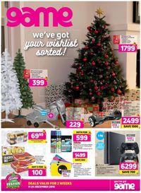 Game Christmas Catalogue 2019