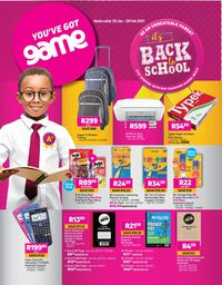 Game Back To School 2021