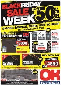 OK Furniture Black Friday Sale Week 2020