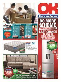 OK Furniture Festive Season 2020