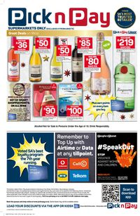 Pick n Pay Black Friday 2019