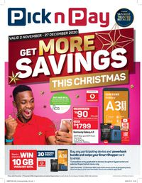 Pick n Pay Holidays 2020