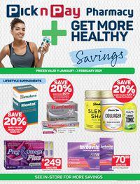 Pick n Play More Healthy Savings 2021