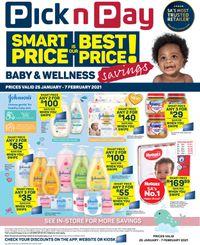 Pick n Pay Savings on Health and Beauty 2021