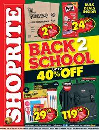 Shoprite Back 2 School