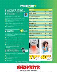 Shoprite Health Goals 2021